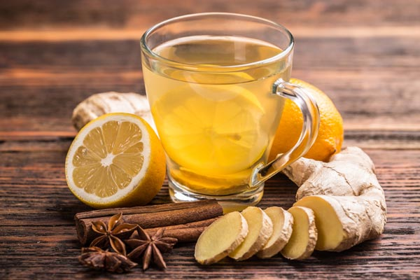 Ginger tea for Fibromyalgia pain